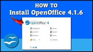 how to install Open Office 4.1.6 on Windows 10 Tutorial