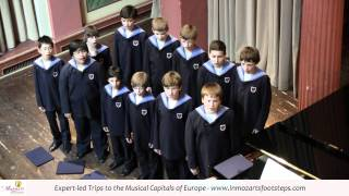 Vienna Boys Choir Singing An Austrian Folk Song