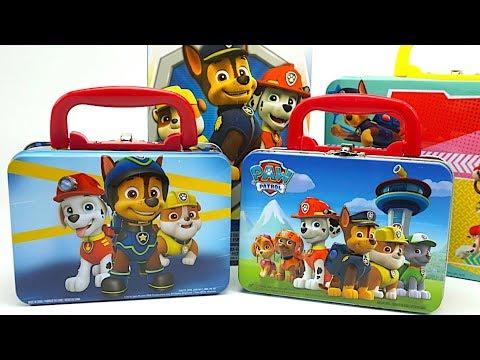 Щенячий патруль распаковываем новые игрушки