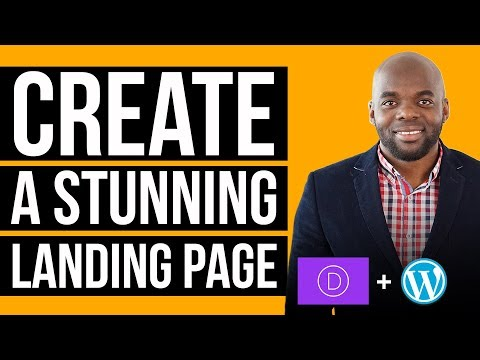How to design a landing page on WordPress - Elegant Themes Divi