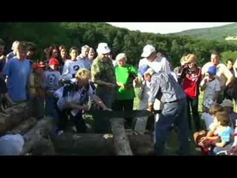 Pilenie dreva 2008 - zmiesane pary
