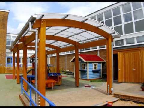 Timber Canopies Walkways u0026 Canopy Shelters for Schools & Timber Canopies Walkways u0026 Canopy Shelters for Schools - YouTube