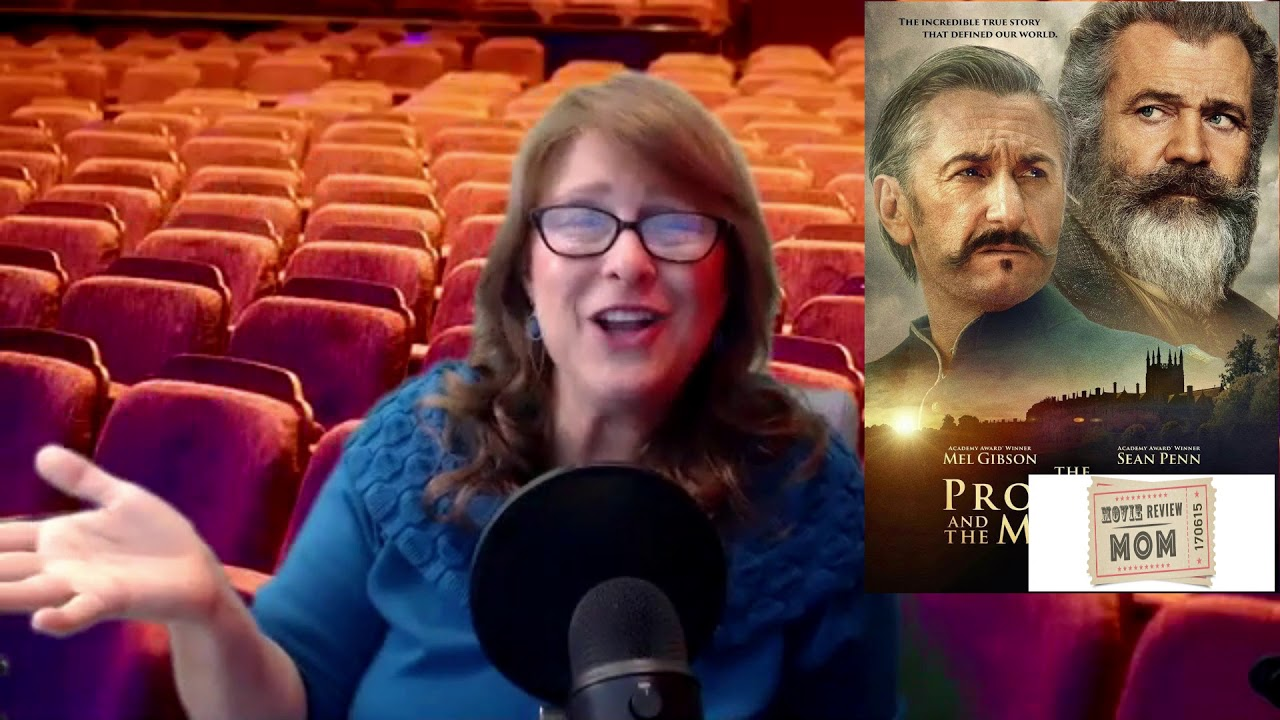 The Professor and the Madman movie review - Movie Review Mom
