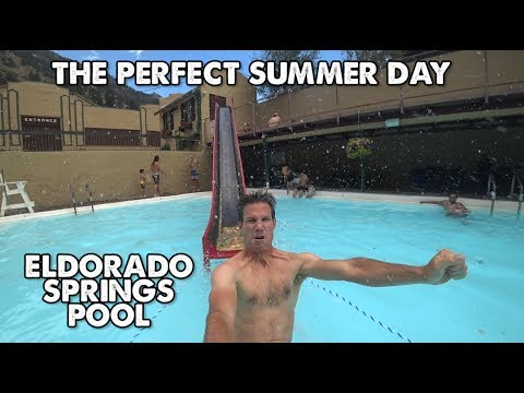 The Historic Eldorado Springs Pool in Boulder, Colorado