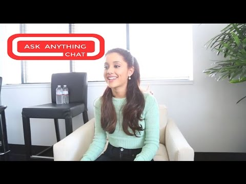 Ariana Grande Answers Fan Questions On Ask Anything Chat w/ Romeo, SNOL ​​​ - AskAnythingChat