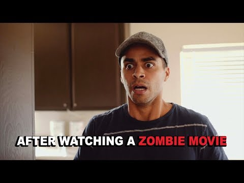 After Watching a Zombie Movie  David Lopez