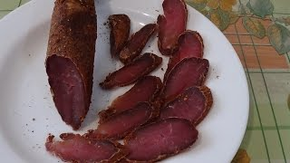 Готовим вяленое мясо в домашних условиях