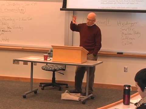 Social Phenomenology: Self in Society, Lecture 1