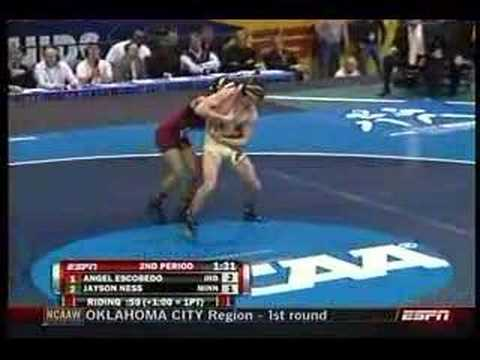 125 lb. NCAA Final - Escobedo vs. Ness