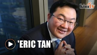 Jho Low used 'Eric Tan' as proxy name