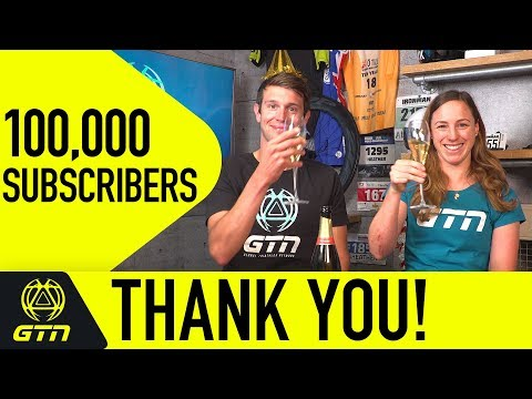 We've Reached 100,000 Subscribers - Thank You!
