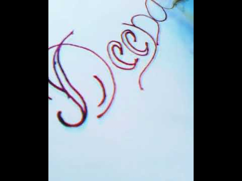 Requested #Deepa Name Calligraphy For Special Person For Friends Full Screen Video