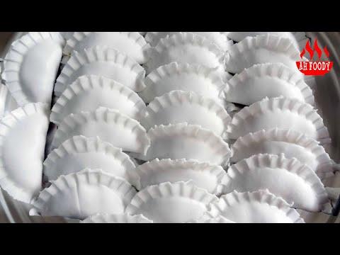 cách làm bột bánh xếp hấp