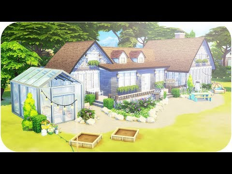 THE SIMS 4 | GET BUILDING | BEACHSIDE COTTAGE