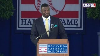Griffey Jr. on dad, Mariners and Reds in HOF speech