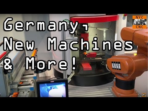 NYC CNC Visits Germany, Shop Update & New Tormach Machine!