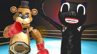 FIGHTING CARTOON CAT IN A FIGHT CLUB in Gmod! (Garry's Mod Multiplayer)