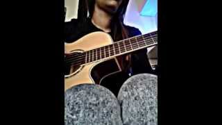 Kwe ou en pense Pix L/Adjah Santana COVER guitare