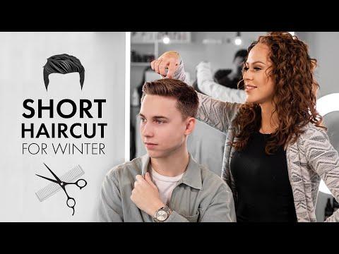 men's-short-haircut-tutorial-for-winter-2020---slikhaar-tv