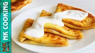 Болгарские БЛИНЫ с Брынзой и Беконом ♥ Просто Объедение ♥ Рецепты NK cooking