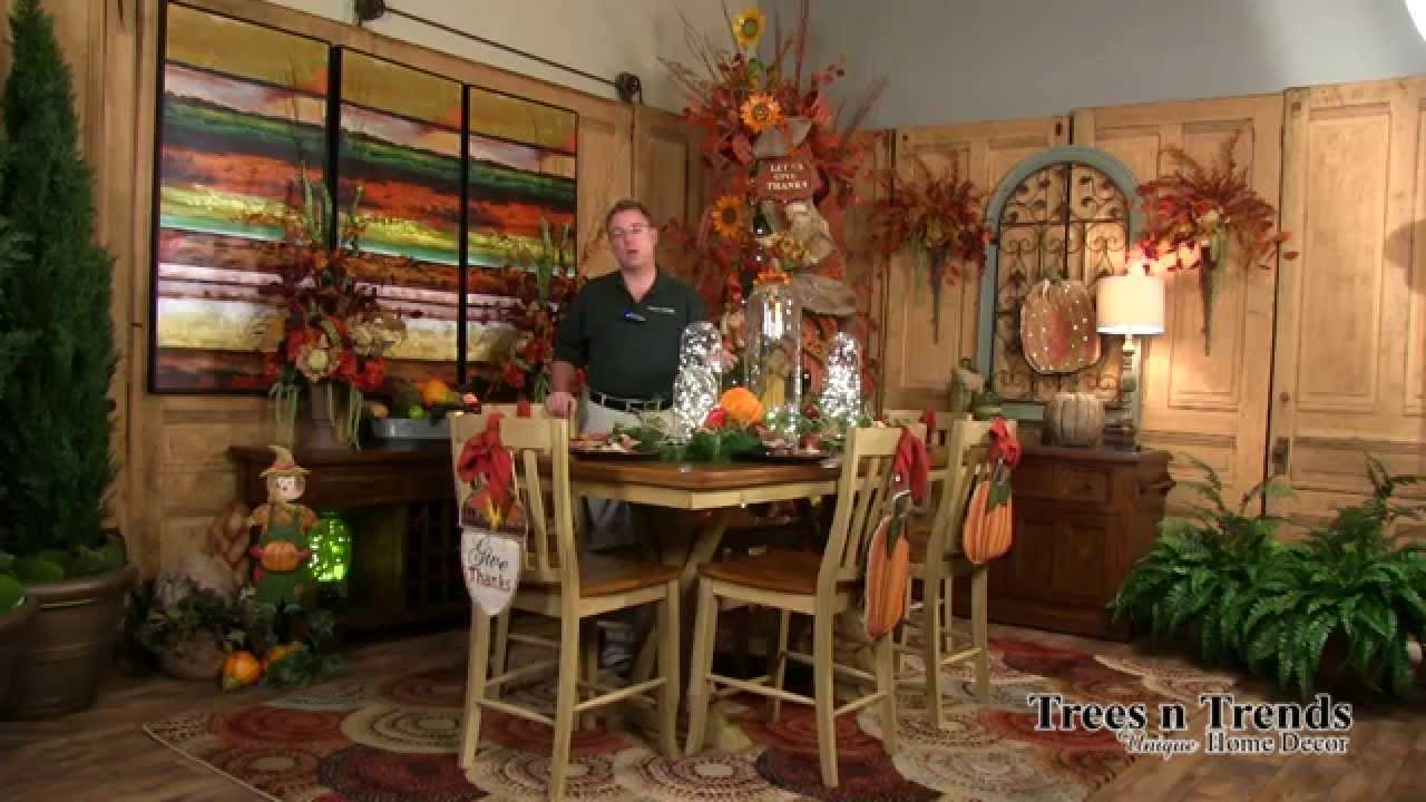 Fall Decorating Ideas   How To Decorate For Autumn   YouTube