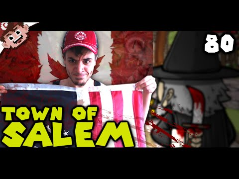America vs Canada! (The Derp Crew: Town of Salem - Part 80)