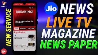 Reliance Jio Ka Neya DDHAMAKAAAA   New Jio News App with FREE News Paper , Live TV & Magazines
