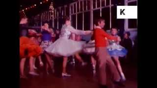 1970s children's ballroom dancing competition in Northern England