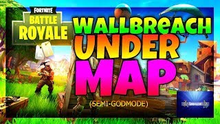 *INSANE* Under-Map Wallbreach On Fortnite - Fortnite Battle Royale Glitches