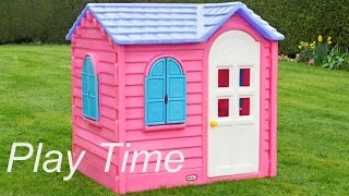 Little Tikes Playhouse Children Play Shop and Cooking Pretend Play | TheChildhoodLife