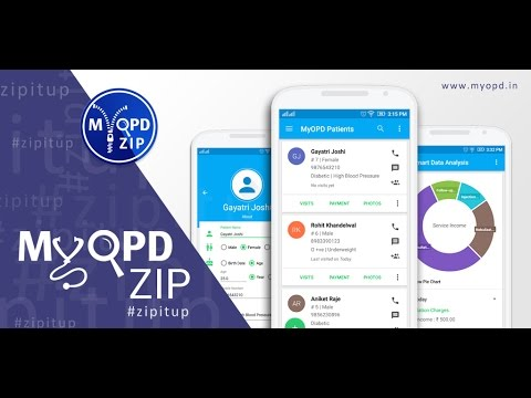 Introduction to MyOPD ZIP Clinic Software for Doctors