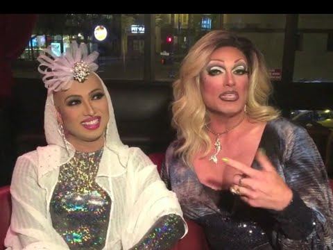 Pollo Del Mar Interviews Ongina, RuPaul's Drag Race - Season 1