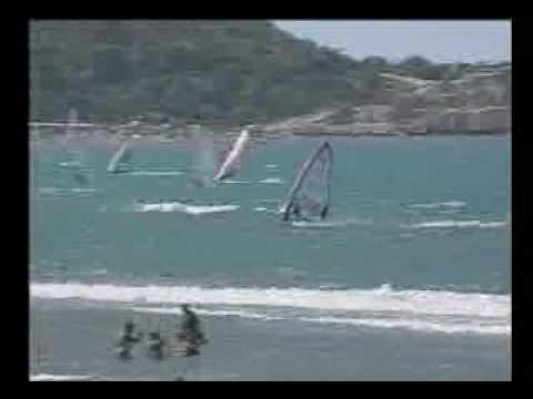 Camping Village Terrazza sul mare Vieste windsurf - YouTube