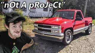 """It'S nOt A pRoJeCt TrUcK"""