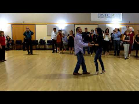 Central Jersey Dance Society Salsa Sensation Salsa lesson with Mike Andino 12-2-17