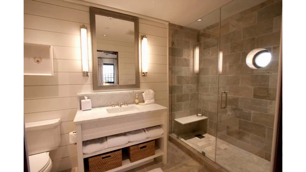 Ideas de diseño de ducha de baño de azulejos - YouTube