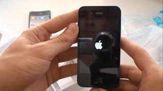 Apple iPhone 4S 16GB Neverlock refurbished. Распаковка(Извините за звук, получилось очень тихо. В следующем видео все будет хорошо! Спасибо за понимание. Видео..., 2015-11-19T17:44:01.000Z)