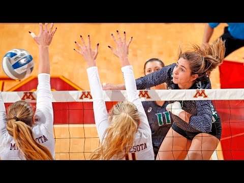 Rainbow Wahine Volleyball 2016 - #12 Hawaii Vs #1 Minnesota
