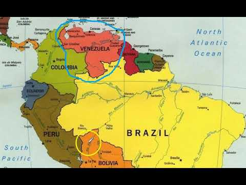 Where is Venezuela on a Map? - YouTube