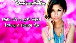 Zendaya Coleman - Something To Dance For (Karaoke Lyrics On Screen) HD
