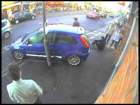 Car accident in Ashtead