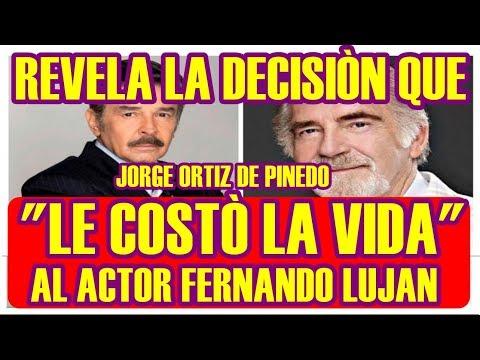 JORGE ORTIZ DE PINEDO revela LA DECISIÒN que LE COSTÒ LA VIDA a FERNANDO LUJAN