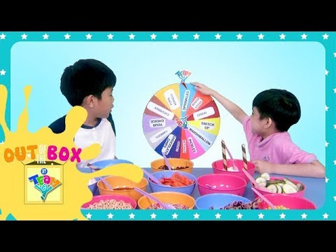 Mystery Wheel of Sundae Challenge | Out of the Box by Team Yey