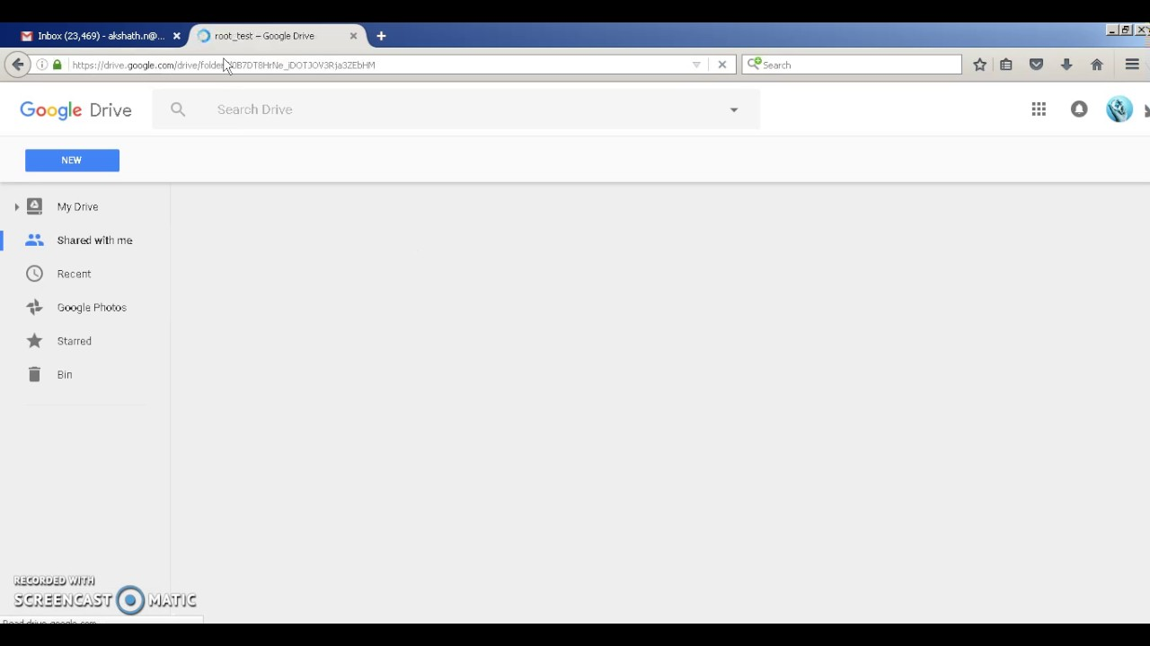 Automatic file upload in Google Drive using PHP(Without Login)