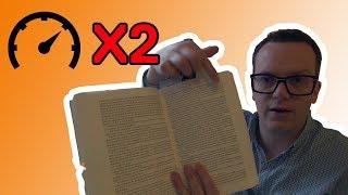Doublez votre vitesse de lecture (sans perdre en compréhension)