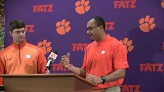 TigerNet.com - Jeff Scott, Tony Elliott introduced as co-coordinators at Clemson