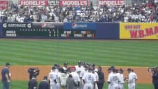 [松井秀喜] ヤンキース チャンピオンズリング授与式 Hideki Matsui 7:38~ thumbnail
