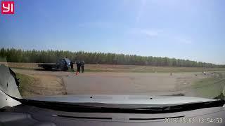Последствия ДТП возле Клишино (Курская область)