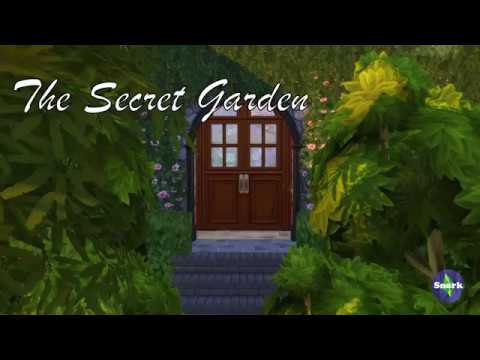 the secret garden sims 4 speed build part 1 youtube