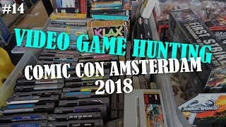 COMIC CON AMSTERDAM 2018 - VIDEO GAME HUNTING and impression - ERG ON TOUR #14